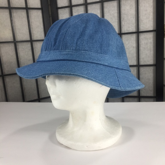 f8bffd371582a David and young Accessories - David and Young light denim blue bucket hat  small